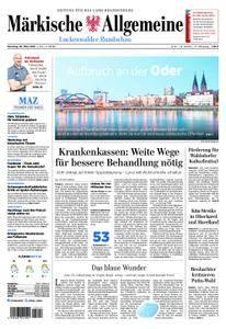 Märkische Allgemeine Luckenwalder Rundschau - 20. März 2018
