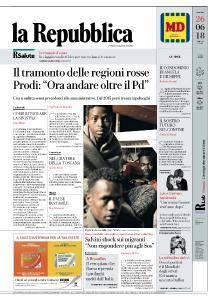 la Repubblica - 26 Giugno 2018