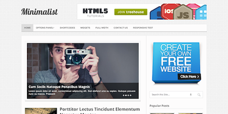 MyThemeShop - Minimalist v1.2.8 - Clean & Minimal WordPress Blog Theme