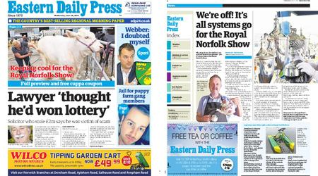 Eastern Daily Press – June 26, 2019