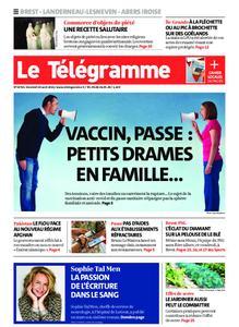 Le Télégramme Brest Abers Iroise – 20 août 2021