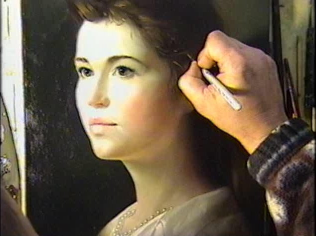 Oil Paintings Video Workshop Portrait of Anna with Alexei Antonov
