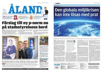 Ålandstidningen – 26 oktober 2018