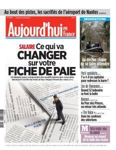 Aujourd'hui en France du Samedi 27 Janvier 2018