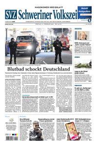 Schweriner Volkszeitung Hagenower Kreisblatt - 21. Februar 2020