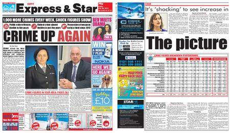 Express and Star City Edition – July 20, 2018